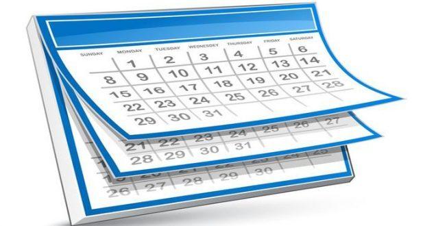 emploi du temps présentiel du S5 valable du 16 janvier au 04 février