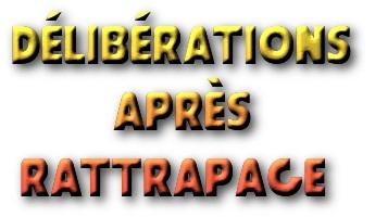 délibérations après rattrapage 1ge. 2ge. 1gp. 2gp .3Gf